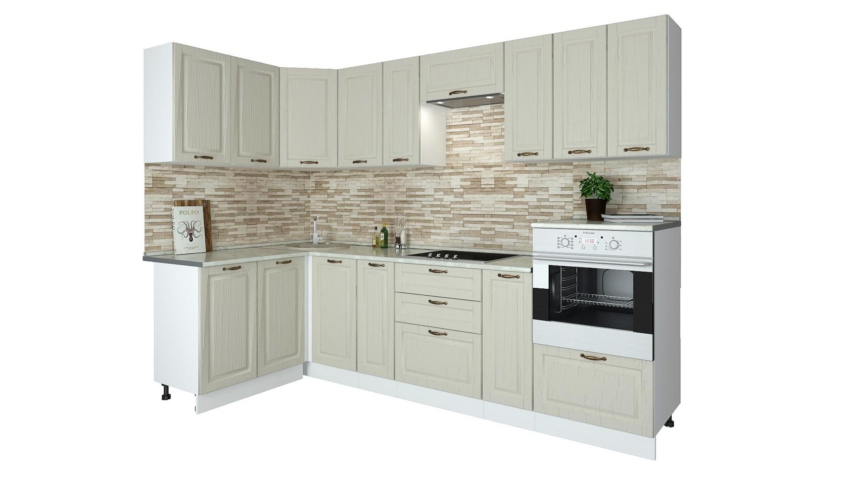 Угловой кухонный гарнитур 150-69073