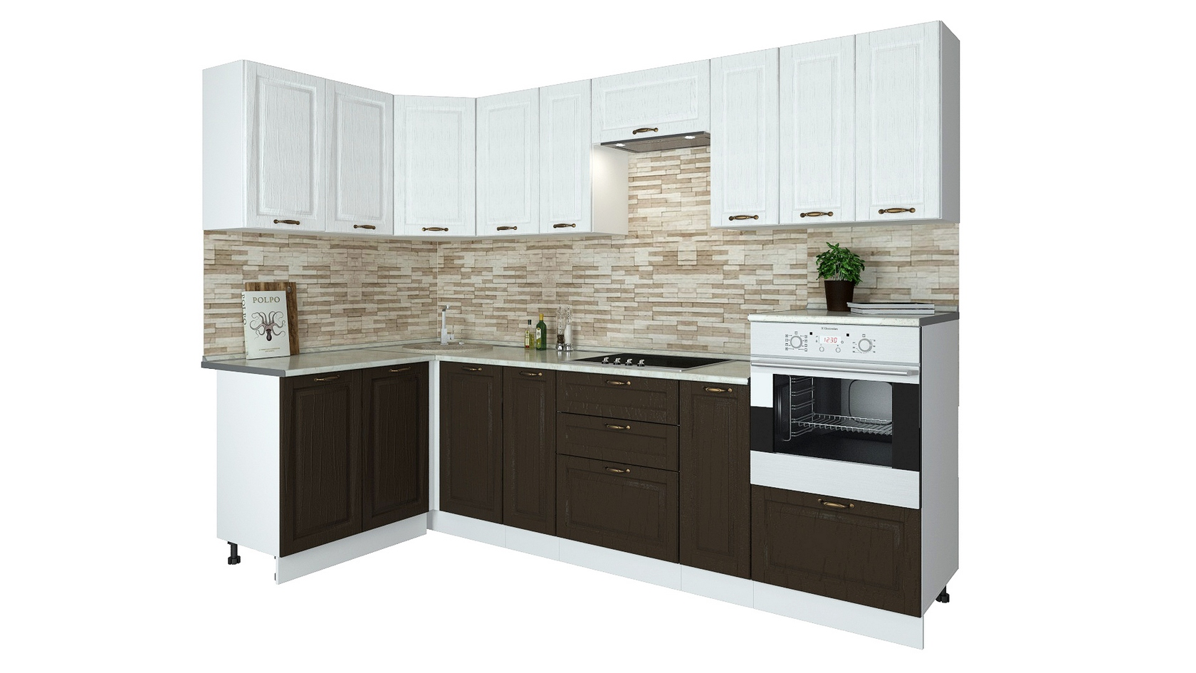 Угловой кухонный гарнитур 150-69168