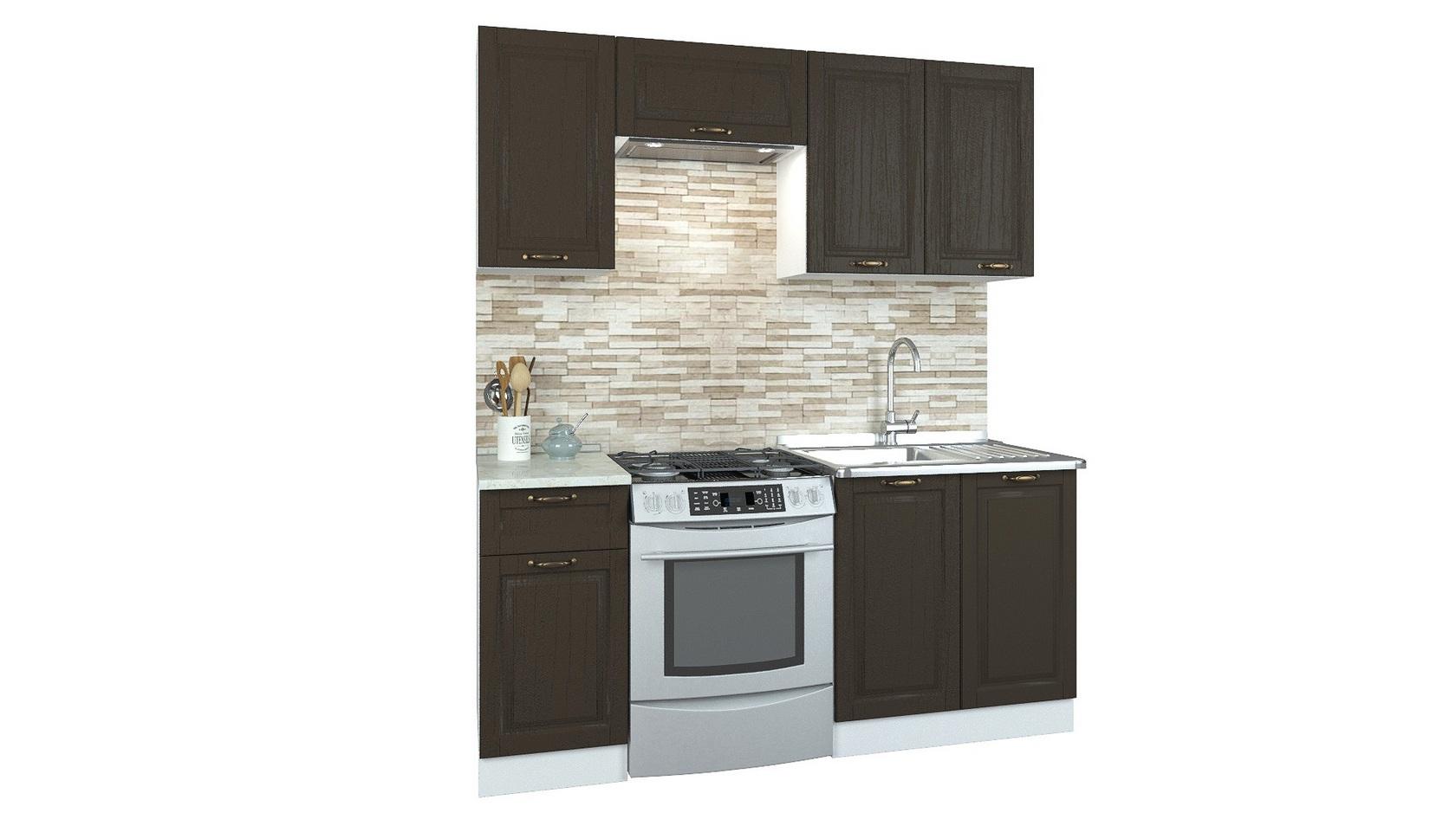 Прямой кухонный гарнитур 179-69065