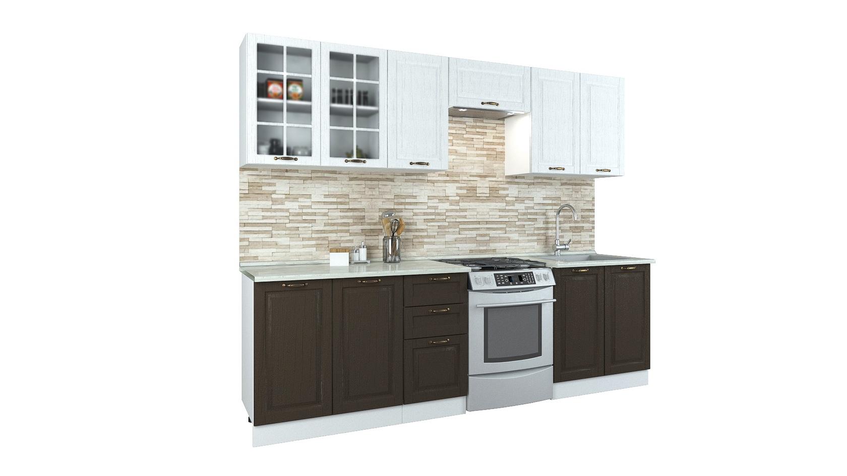 Прямой кухонный гарнитур 150-69070