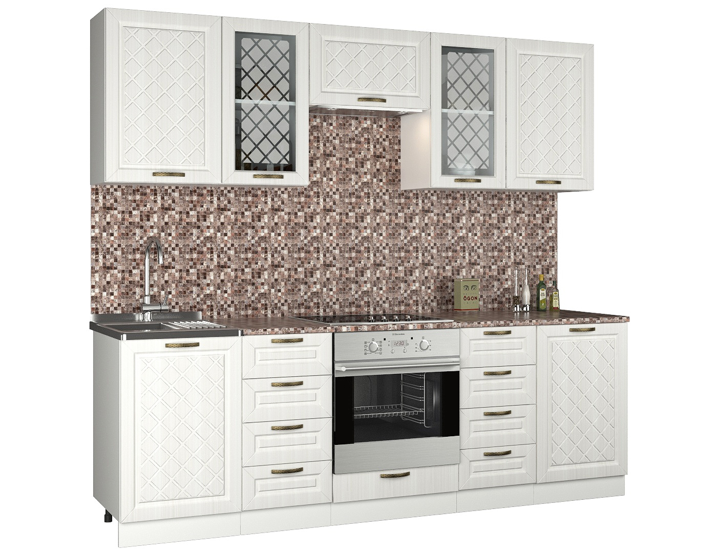 Прямой кухонный гарнитур 179-68905