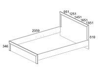 Кровать 500-96660