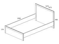 Кровать 500-95955