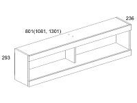 Навесной шкаф 500-96269