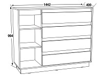 Спальный гарнитур 500-115701