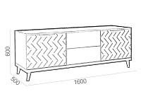 Тумба под ТВ 500-103827