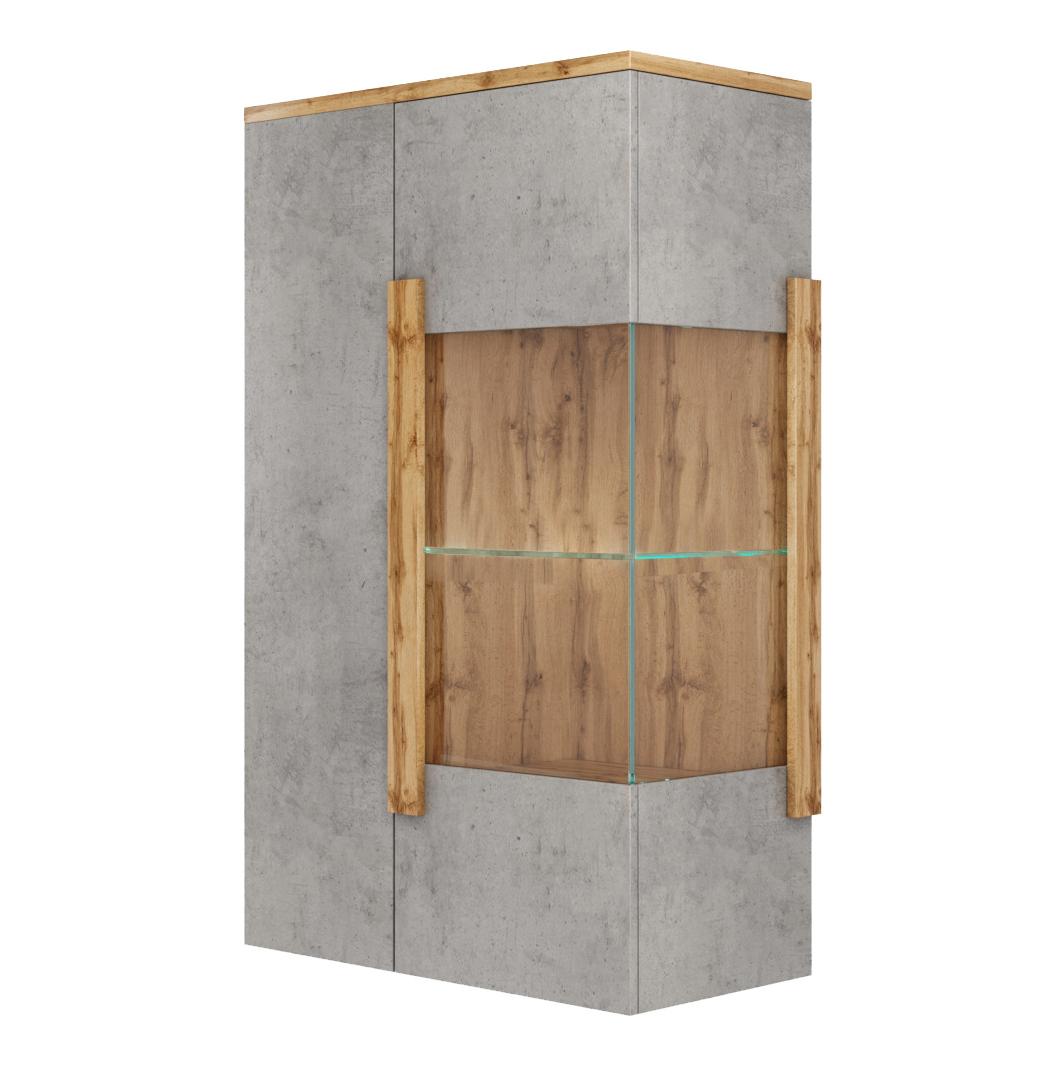 Шкаф-витрина 150-85504