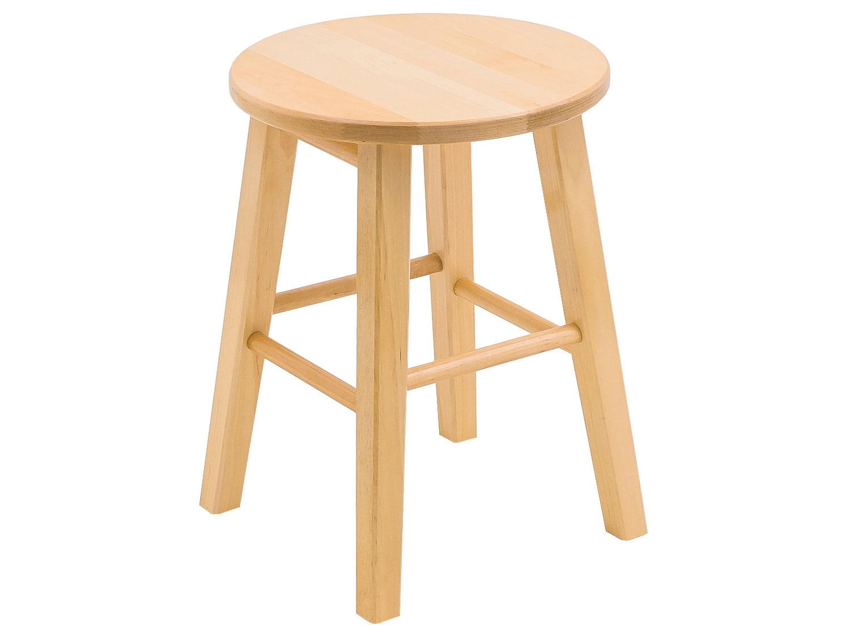 Круглый деревянный табурет 179-53332