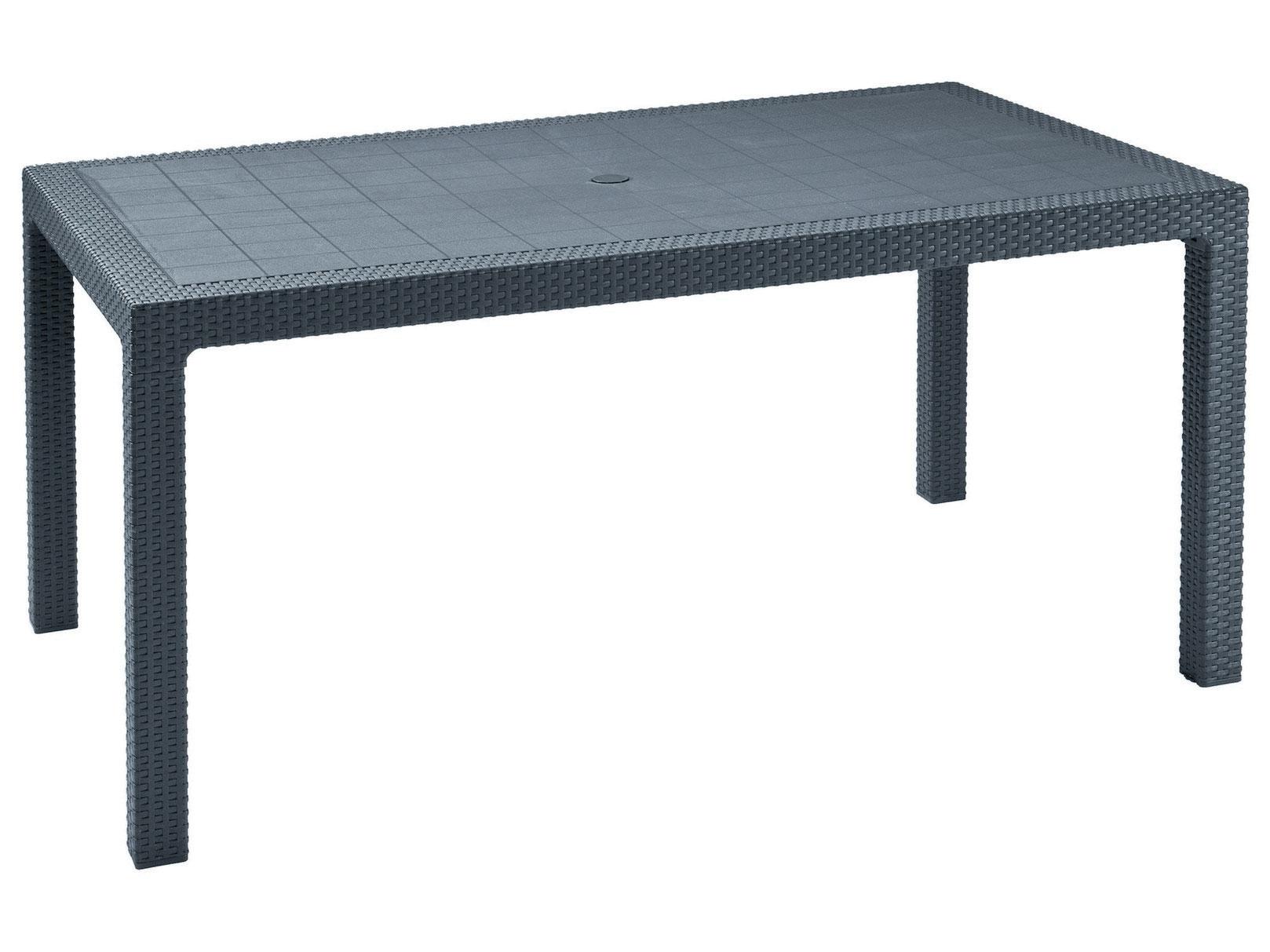 Плетеный стол 105-16633