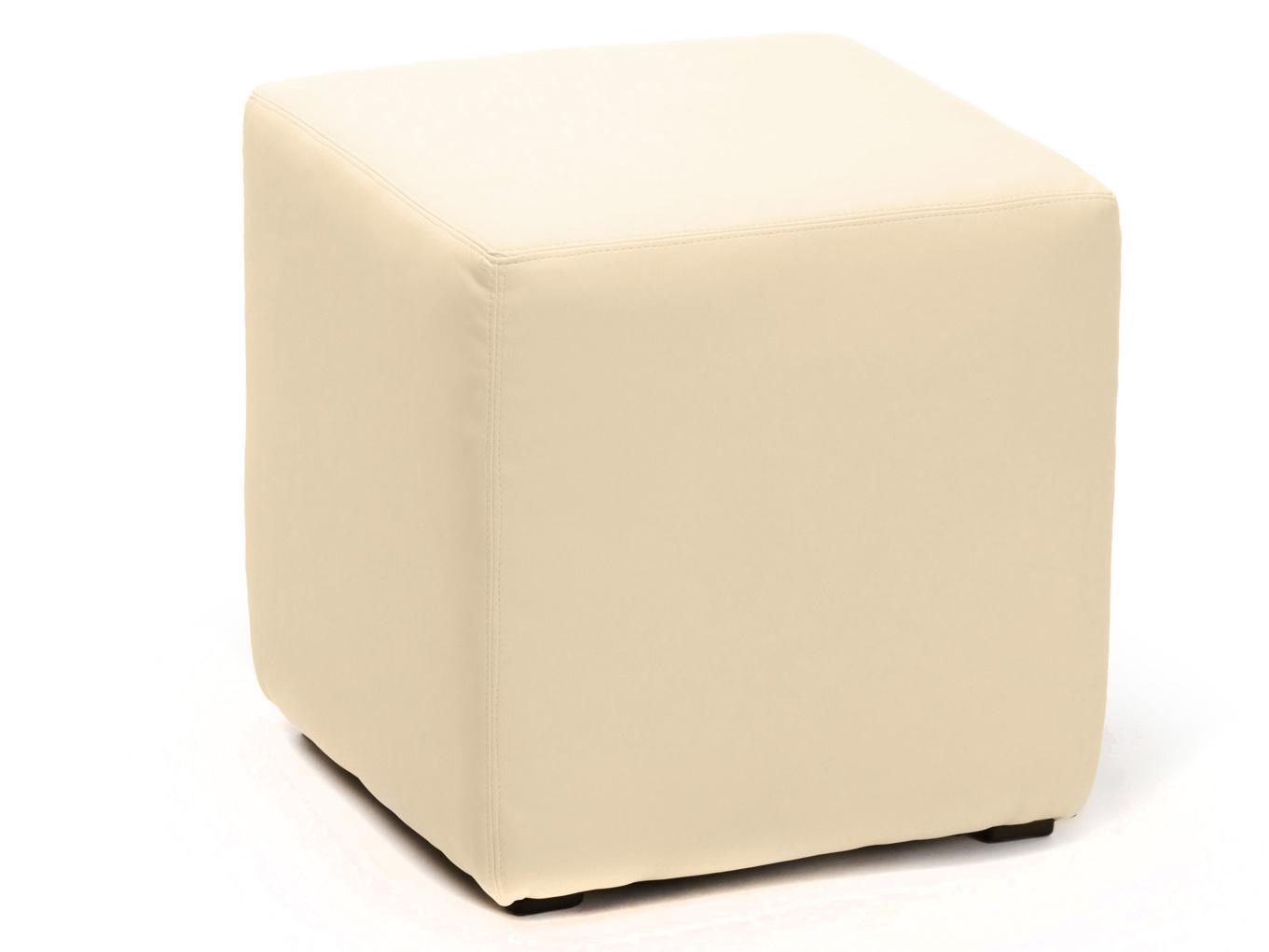 Пуфик кожаный 108-37439