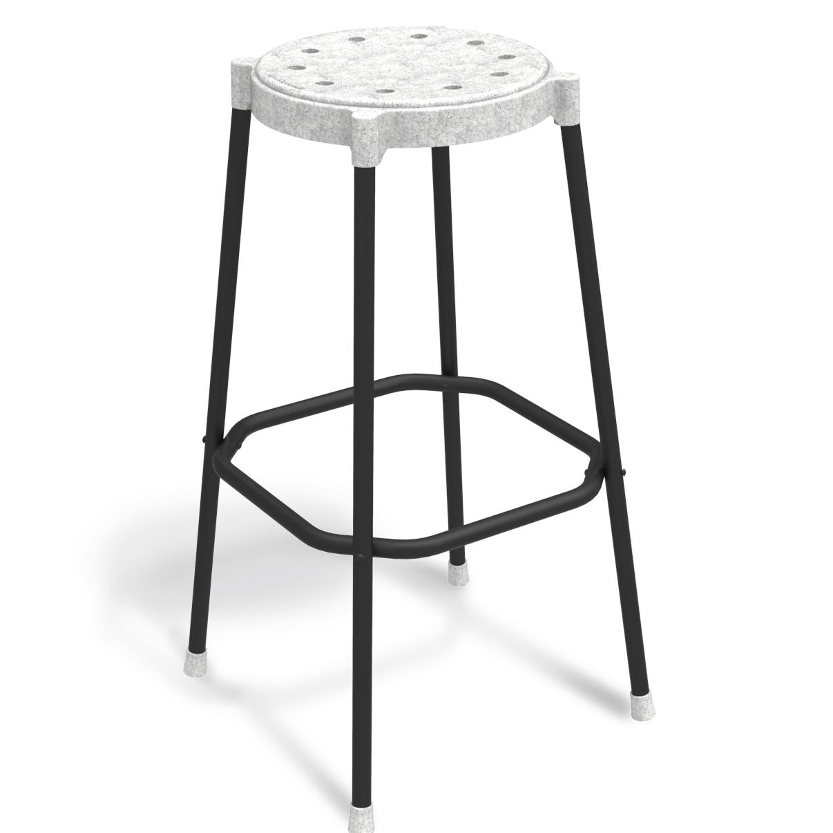 Круглый барный стул 150-94355
