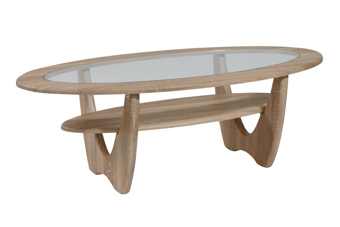 Журнальный столик со стеклом 150-62755